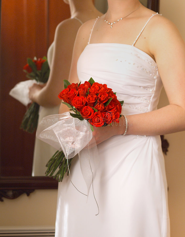 Roses de mariées image stock