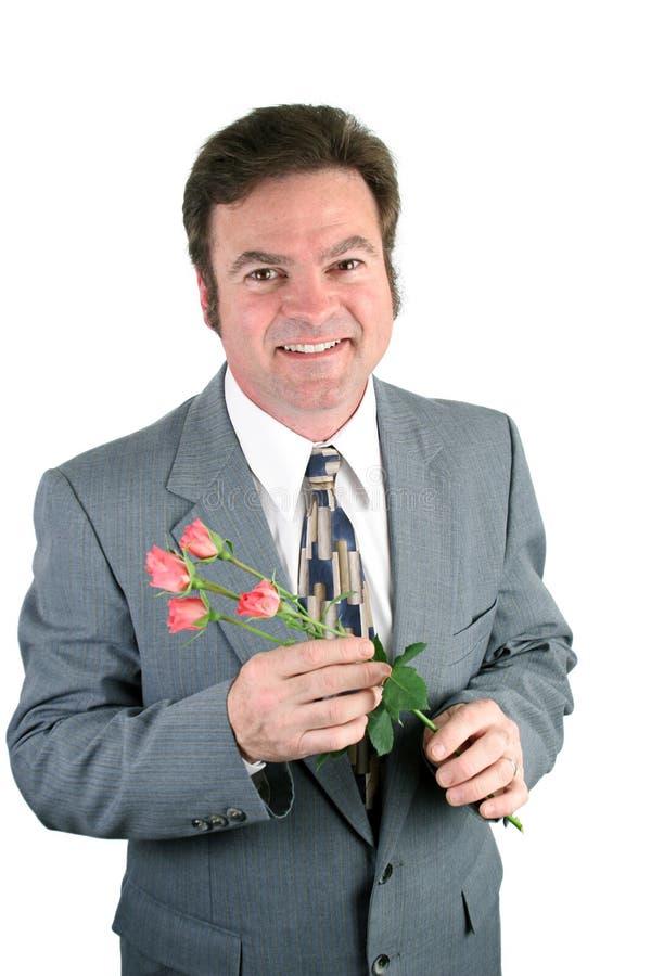 Roses douces de mari et d'amoureux image libre de droits