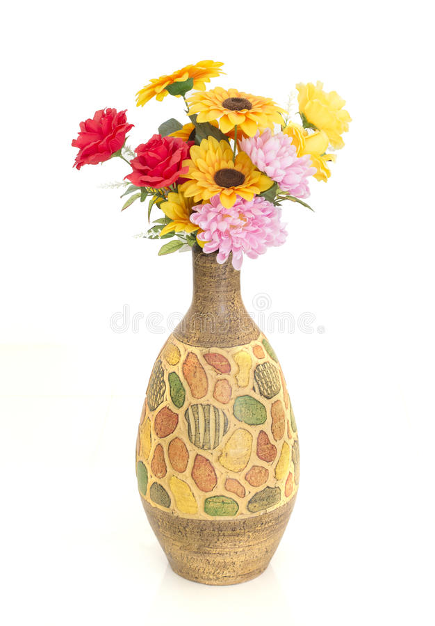 Roses et tournesols photo stock