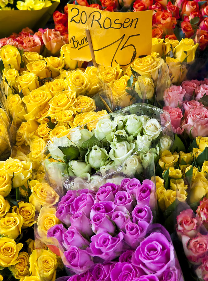 Free Roses For Sale Royalty Free Stock Image - 17373676