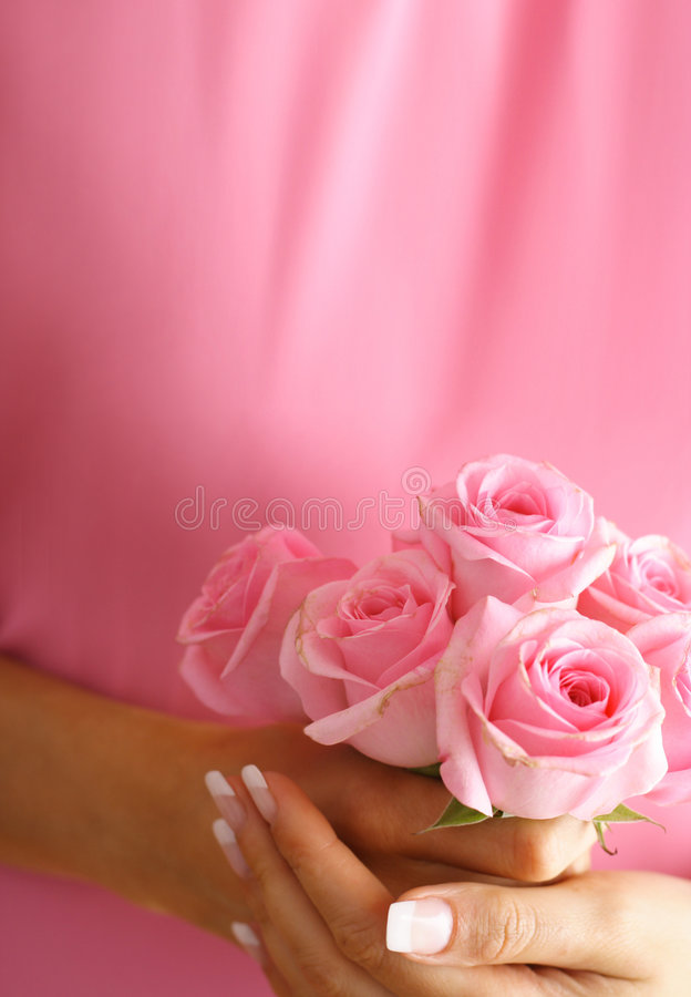 Download Roses In Hands Stock Photography - Image: 5883282