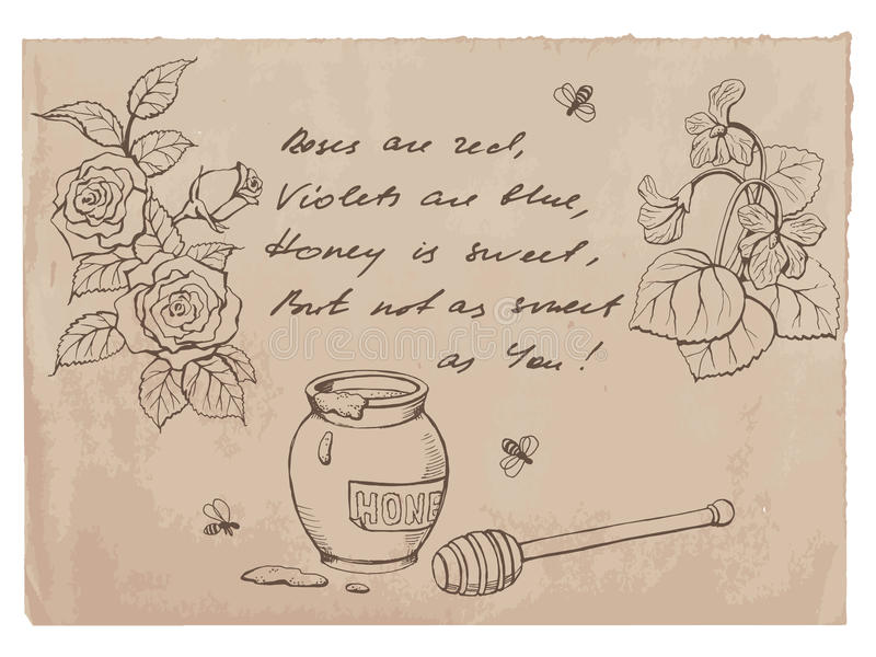 """""""Roses Are Red, Violets Are Blue.."""" Rhyme And Drawings On ..."""