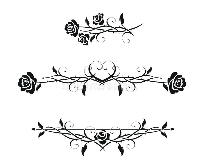 Roses vector illustration