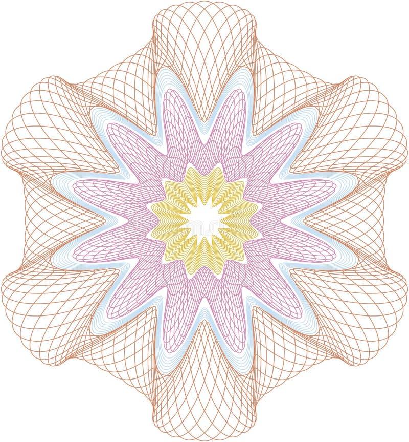 Rosetón ilustración del vector