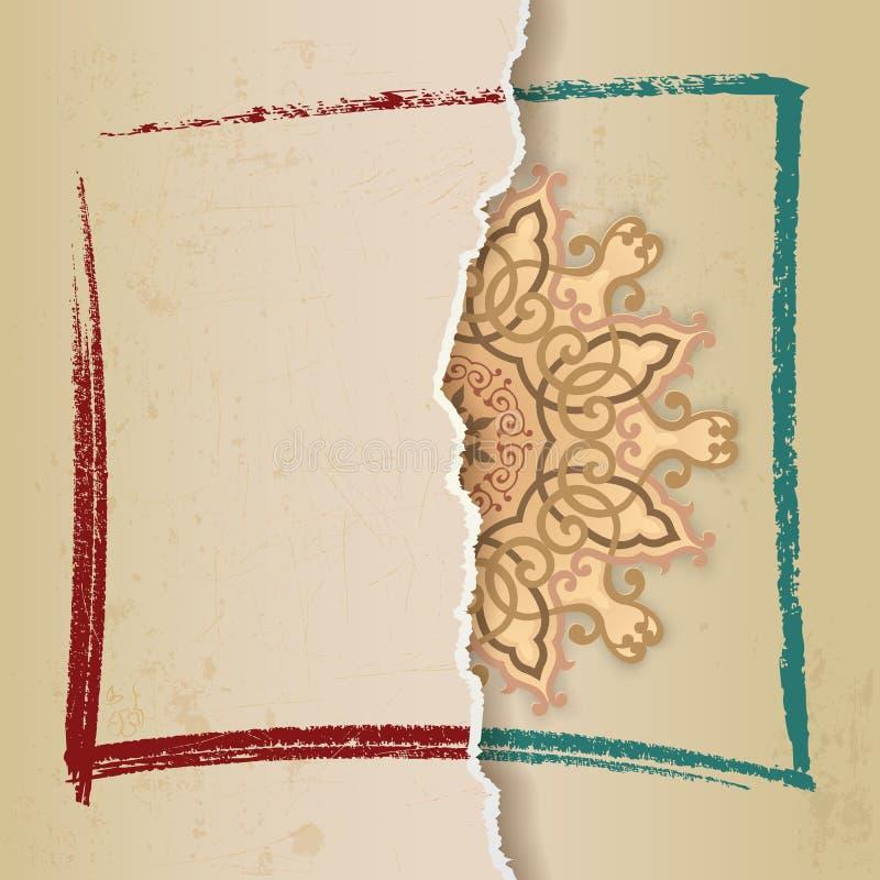 Rosetón del Arabesque libre illustration
