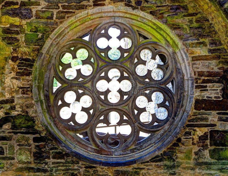 Roseta uma construção medieval imagem de stock royalty free