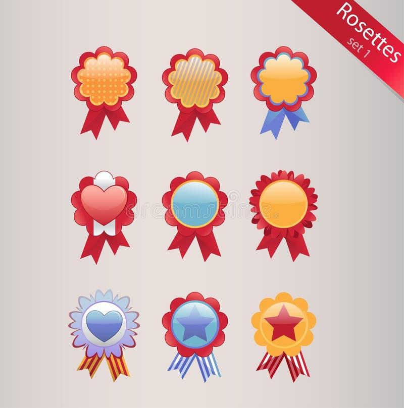 Rosetones fijados libre illustration