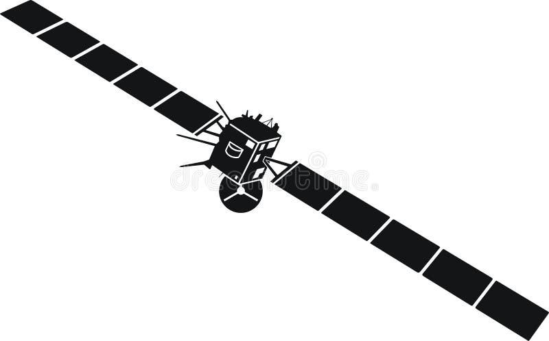 Rosetta de vaisseau spatial images stock