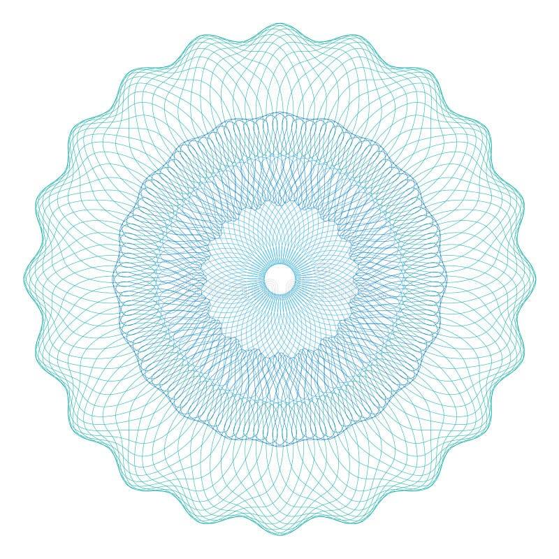 Rosetta della rabescatura royalty illustrazione gratis