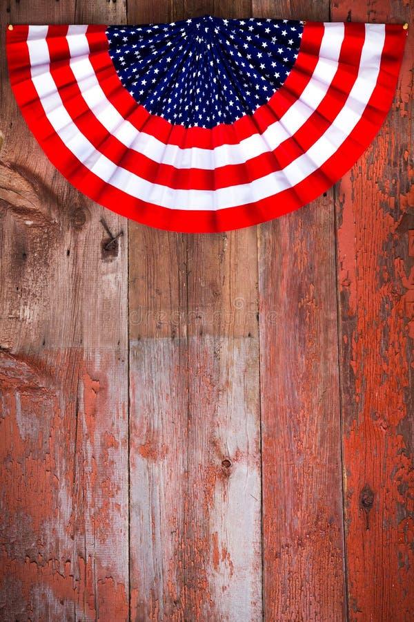 Rosetta patriottica di festa dell'indipendenza immagine stock