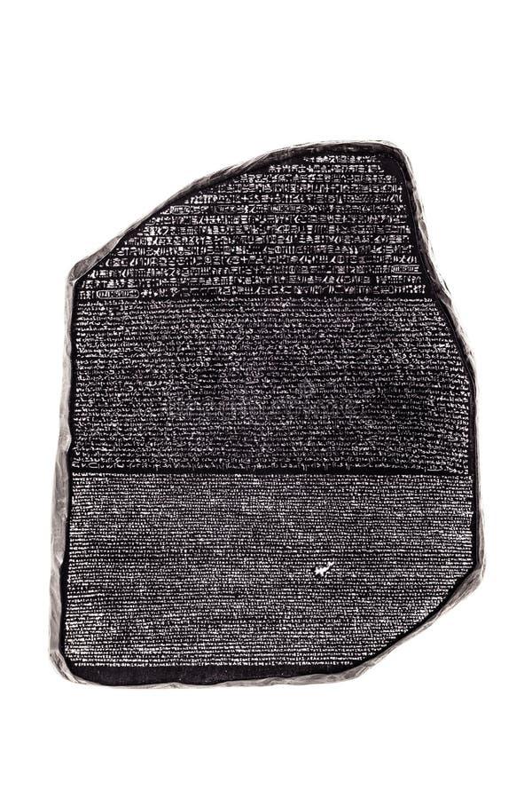 Rosetta Stein stockbilder