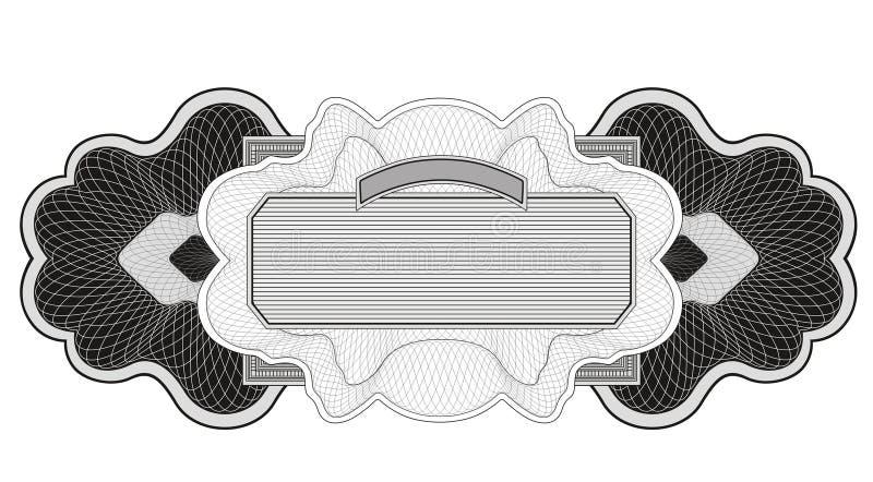 Rosette 3 illustration de vecteur