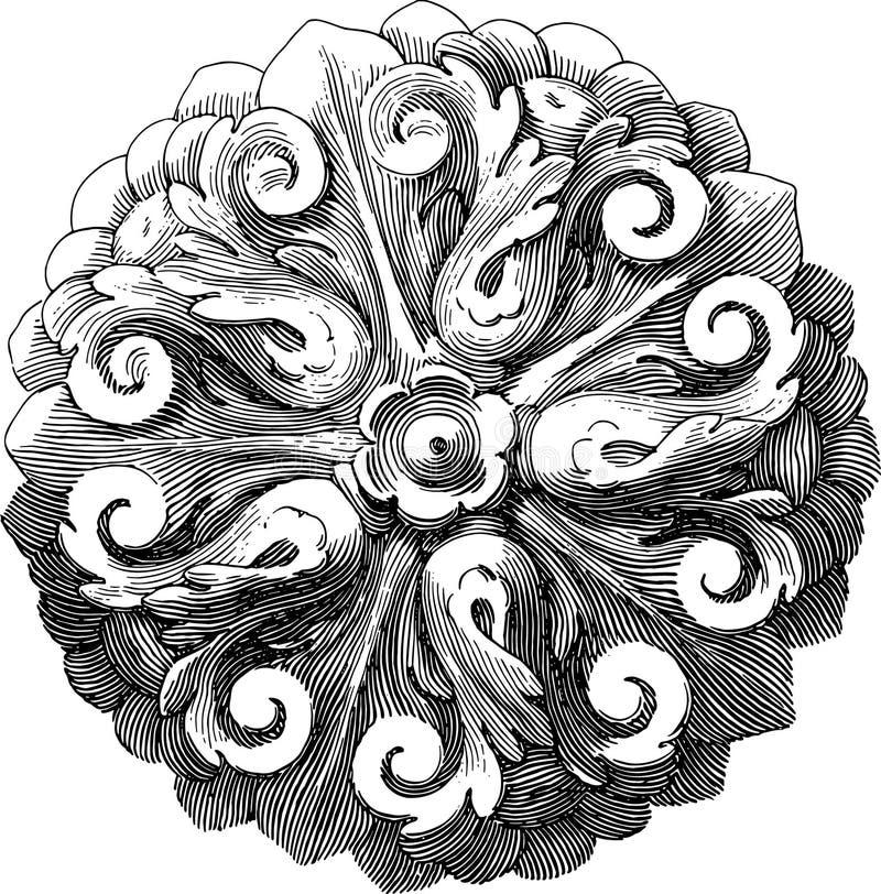 Rosette-4 Stock Image