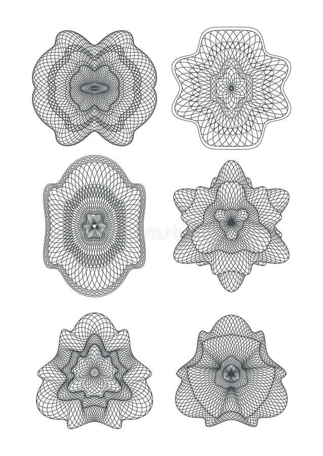 Rosette illustrazione vettoriale
