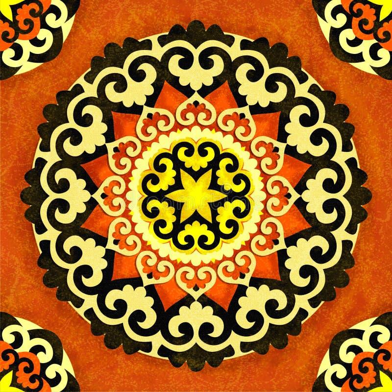 Rosette décorative illustration libre de droits