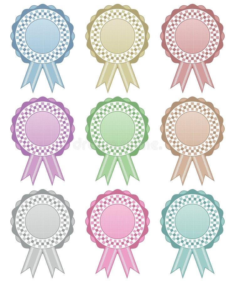 Free Rosette Decorations Stock Photo - 32046030