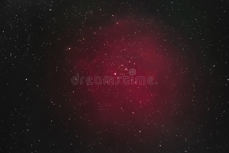 Rosette Nebula arkivbilder