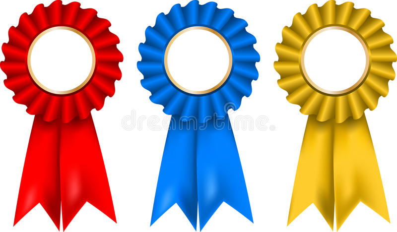 Rosettes illustration stock