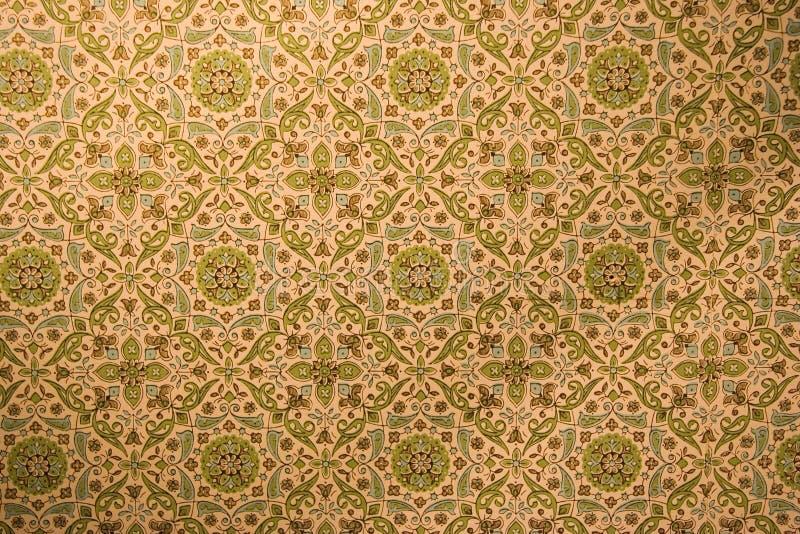 rosettestappningwallpaper royaltyfri fotografi