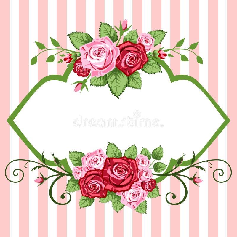 Roseweinlese lizenzfreie abbildung