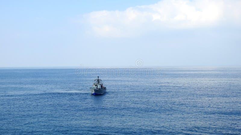 Rosh Ha Nikra Das ist ein felsiger Kap an der Mittelmeerküste nahe der israelischen Grenze zum Libanon stockfotografie