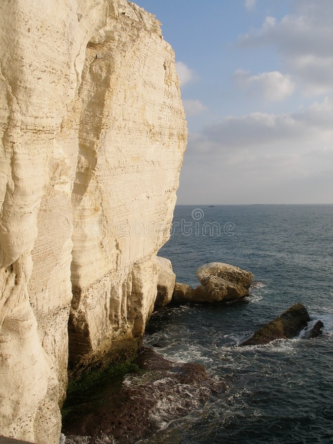 Rosh Hanikra en Israël photos stock