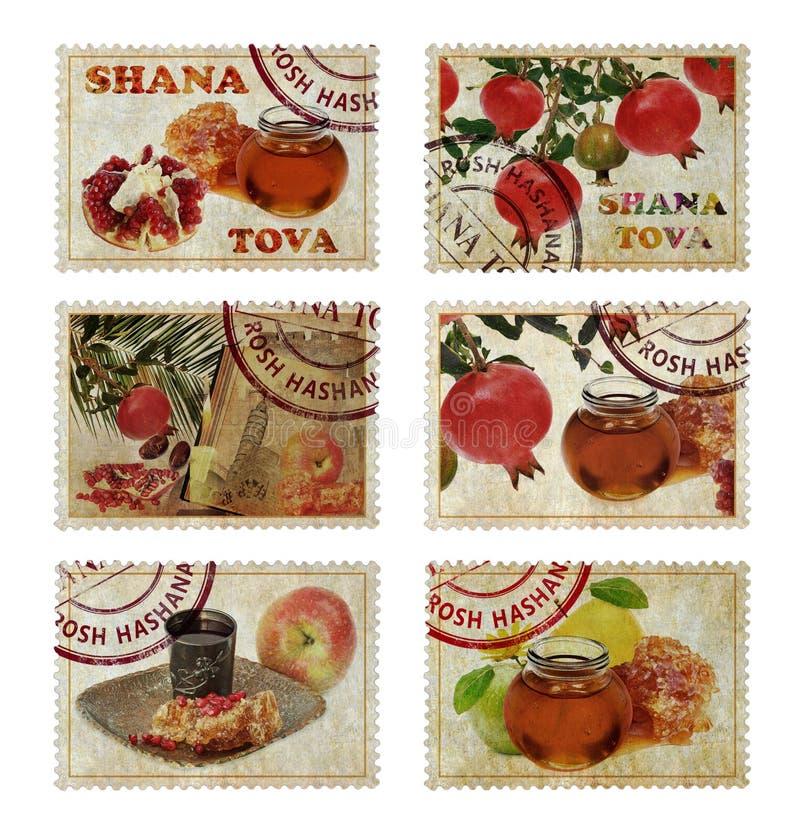Rosh Hashana - ano novo judaico imagens de stock royalty free