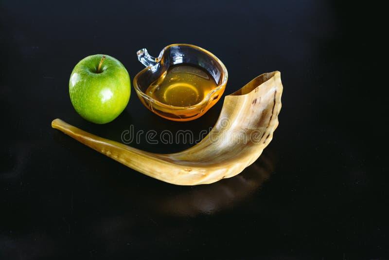 Rosh hashanah犹太新年假日概念 免版税库存照片