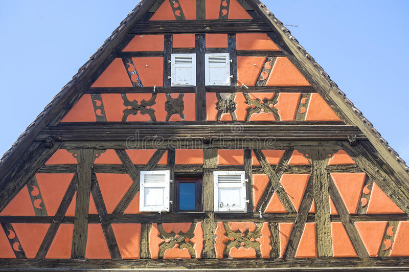 Rosheim (Alsace) - House Stock Photography