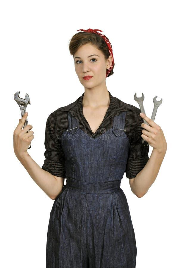 Rosie el remachador fotografía de archivo libre de regalías