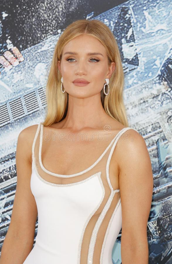Rosie Huntington-Whiteley photo libre de droits