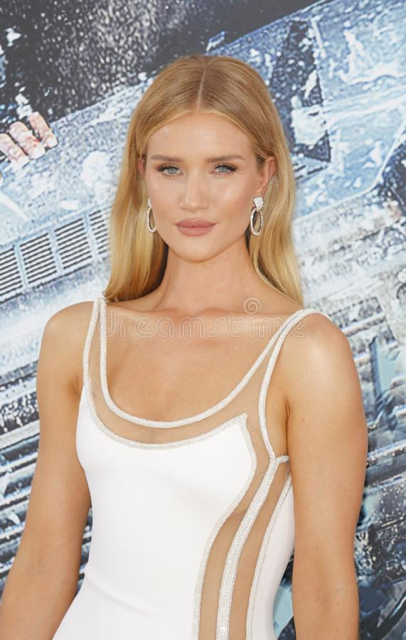 Rosie Huntington-Whiteley photos libres de droits