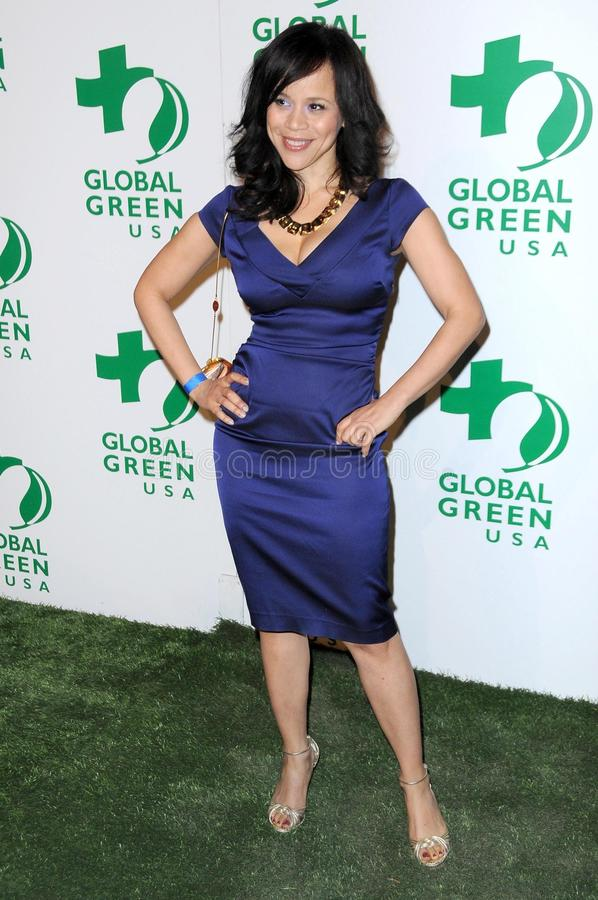 Download Rosie Perez editorial stock image. Image of rosie, party - 23572579