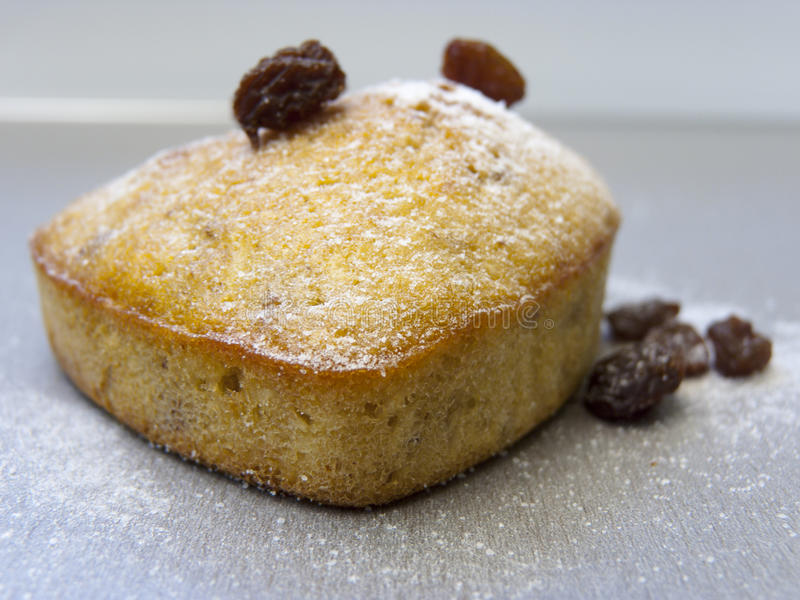 Rosinesultanine-Kuchen lizenzfreies stockfoto