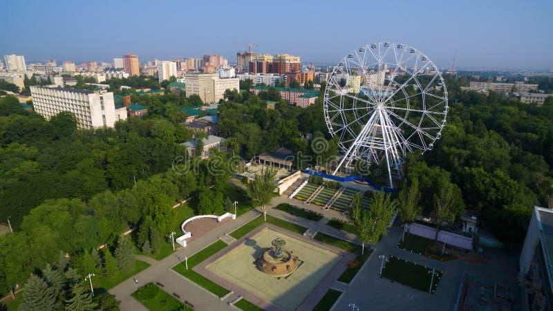 Rosja Don Park Październik rewolucja obrazy royalty free