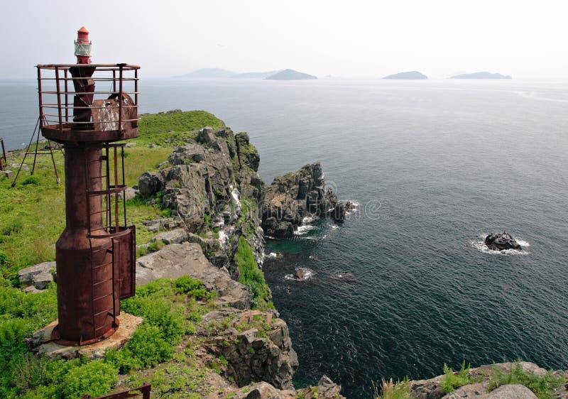 Rosja. Japonia morze 2 zdjęcie stock