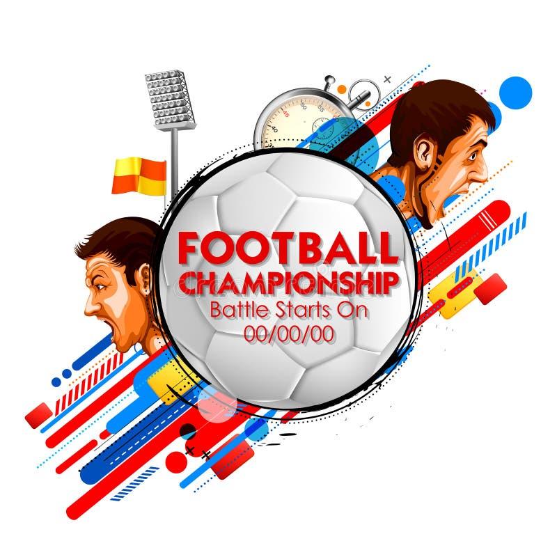 Rosja mistrzostwa filiżanki Futbolowa piłka nożna bawi się tło dla 2018 fotografia royalty free