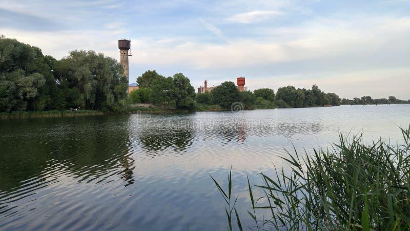 Rosja - piękny jezioro blisko Moskwa zdjęcie royalty free