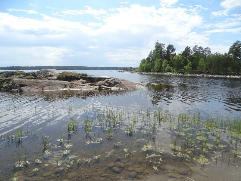 Rosja Podróżować Rosja Karelia zdjęcia royalty free