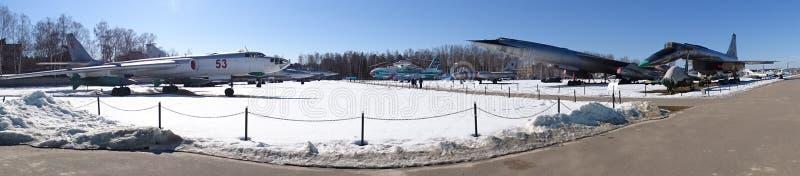 Rosja Spacer wokoło Moskwa Monino Zima fotografia stock