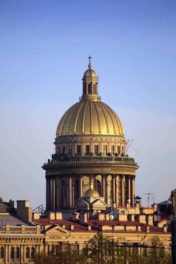 Rosja St Petersburg Isaakievsky katedra obrazy stock