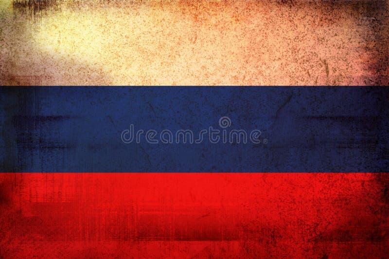 rosjanin bandery ilustracja wektor