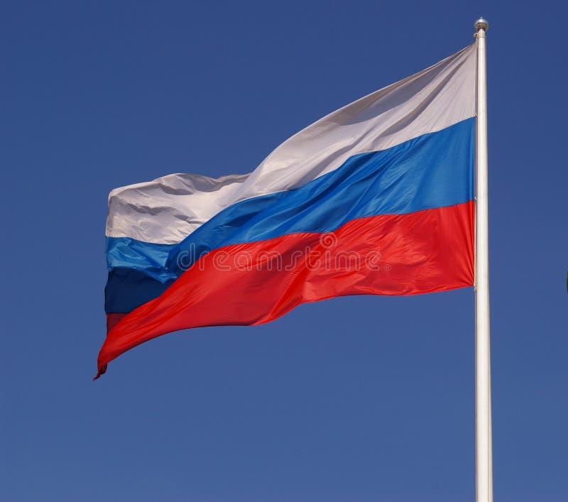 rosjanin bandery obrazy royalty free