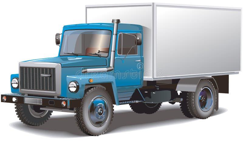 rosjanin ciężarówka klasycznego ilustracji