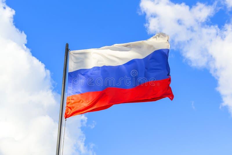 Rosjanin flaga obrazy royalty free