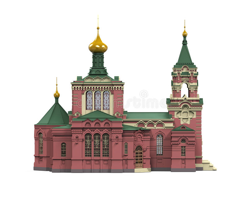 rosjanin kościoła royalty ilustracja