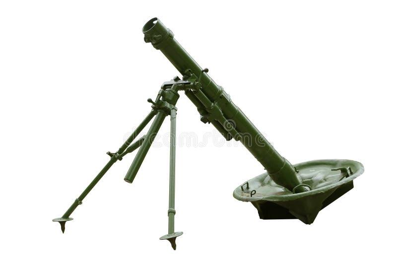 Rosjanin 120 mm moździerza pułkowy model 1938 zdjęcia stock