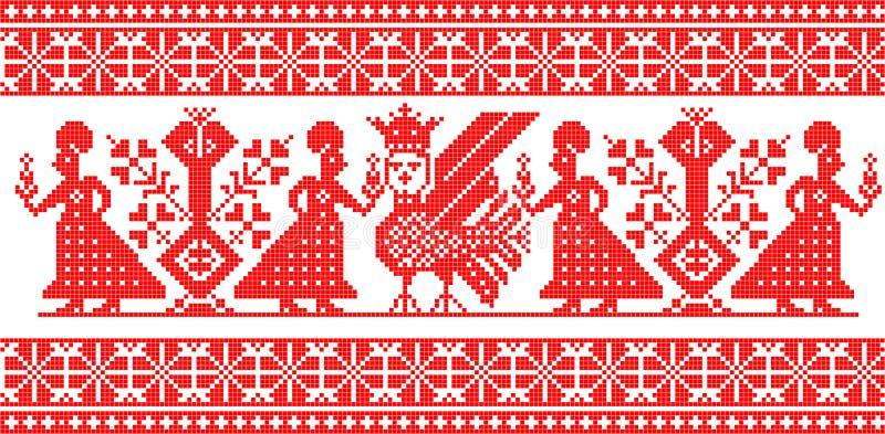 rosjanin ornamentu ilustracji
