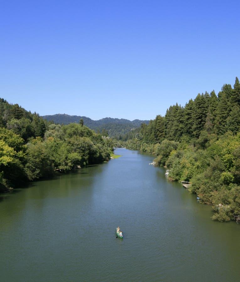 rosjanin rzeki fotografia stock