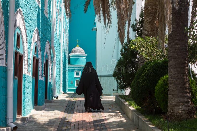 Rosjanina St Pantaleon Ortodoksalny monaster przy górą Athos fotografia stock